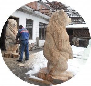 дърворезби мечки (1)